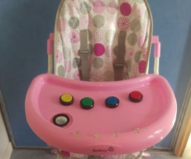Baby high chair light game Arduino
