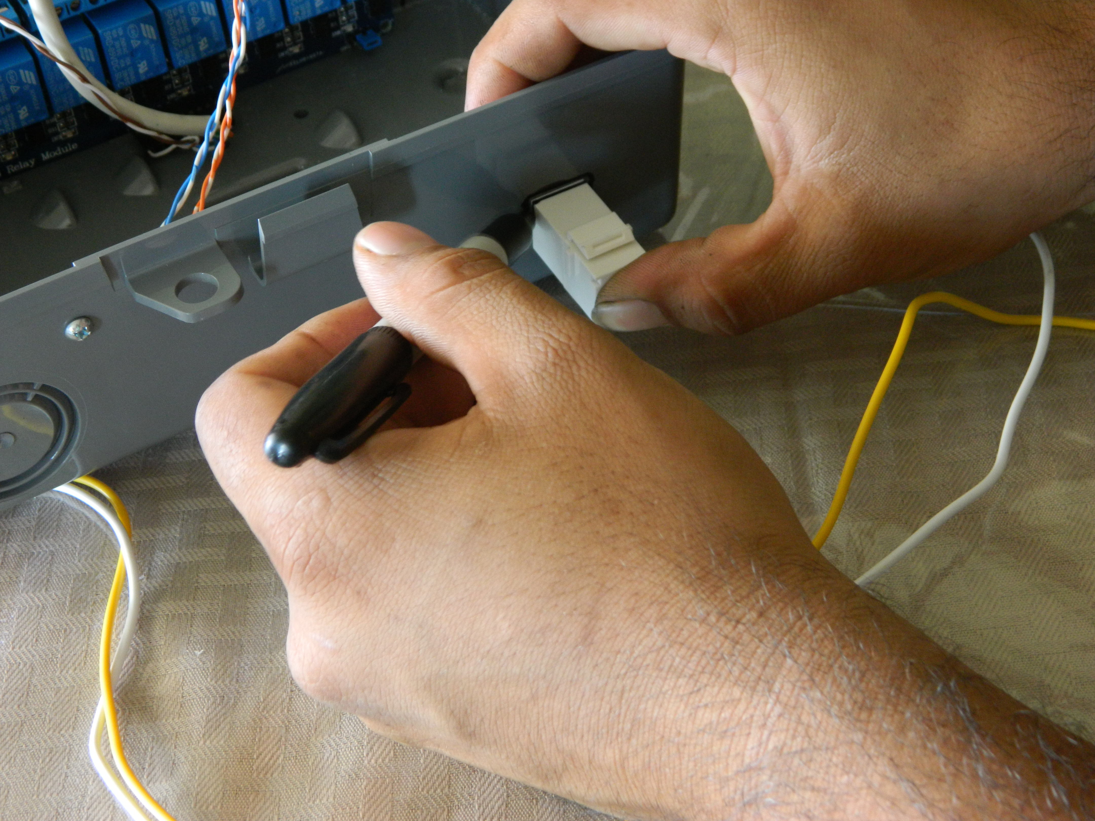 Picture of Mounting the Cat5 Coupler