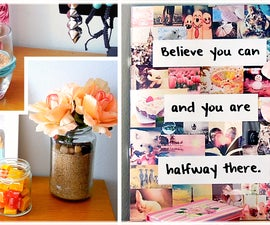 DIY Room Decor for summer! Colorful & fun projects!