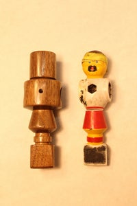 Turning a Wooden Foosball Player