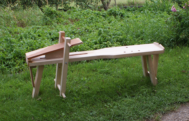 Picture of Horizontal Vise (My Table Top Shavehorse Without the Horse)