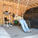 Adjustable TRX-style Suspension Work Out System - Less than $20