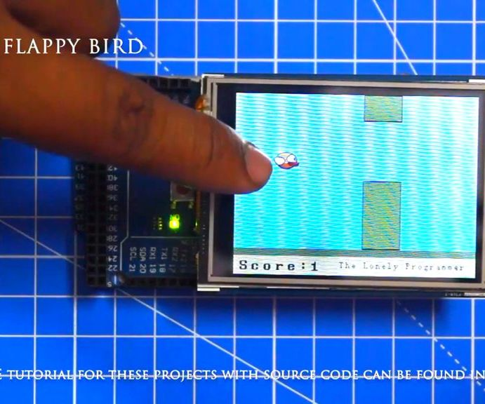 Flappy Bird on Arduino (with Pictures)