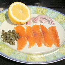 Picture of How to Make Graved Lox Salmon - UPDATED!!