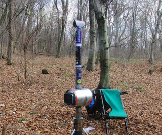 KP Tent Wood Stove-Oven II.