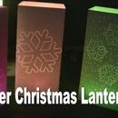 Simple Paper Christmas Lantern