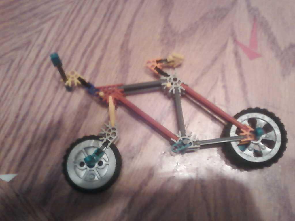 Picture of Knex Bike