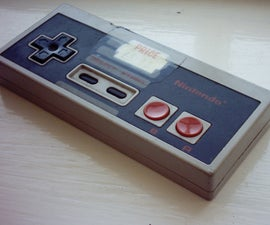 SirronTM's NES Controller MP3 Player
