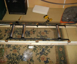 DIY Free Motion Cycling Rollers