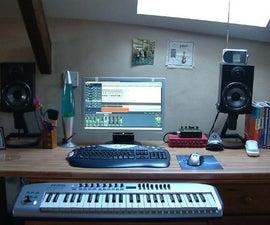 The Around the House Junk recording Studio!!!