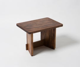 Wooden Flatpack Stool