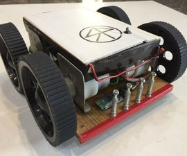 Bluetooth Controlled 4wd Car With HC-05