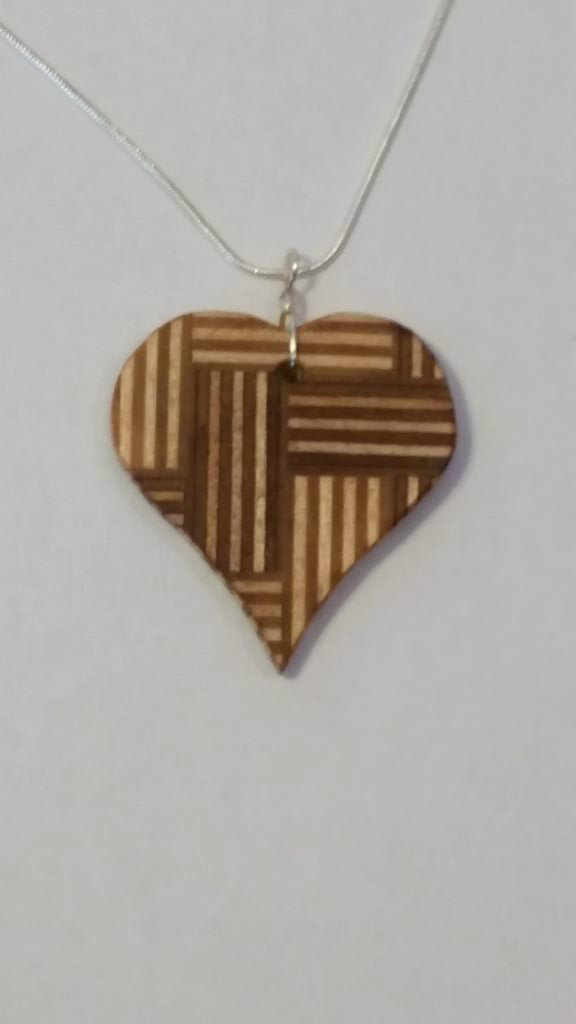 Picture of PLYWOOD JEWELERY?  You'll Be Amazed at the Unique Beauty of Common Plywood.