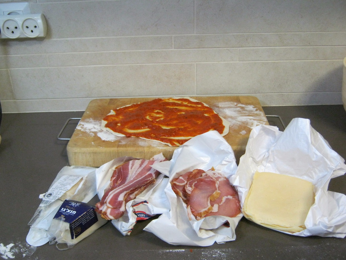 Picture of Cheese and Bacon