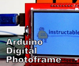 How to display images on 2.4inch TFT and make it a digital photoframe