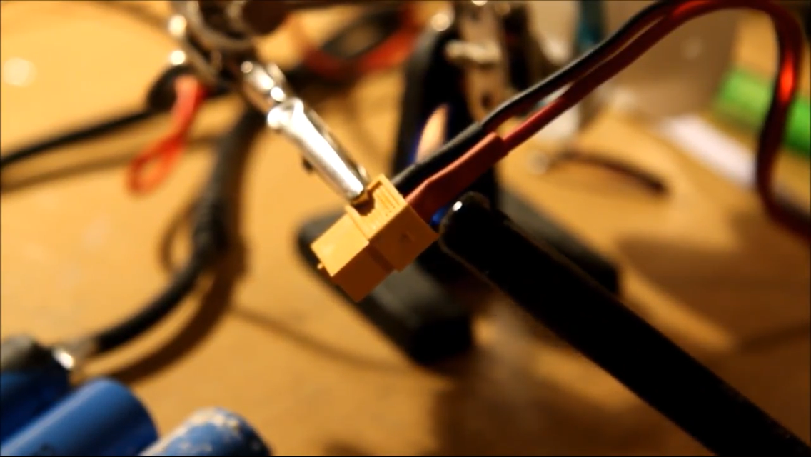 Picture of Soldering the Battery Connector