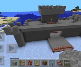 How to make a Minecraft Pocket Edition Castle