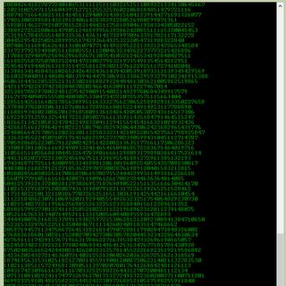 Matrix Notepad Program