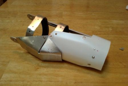 Right Hand RT & Forearm Armor: Construction Pt1.