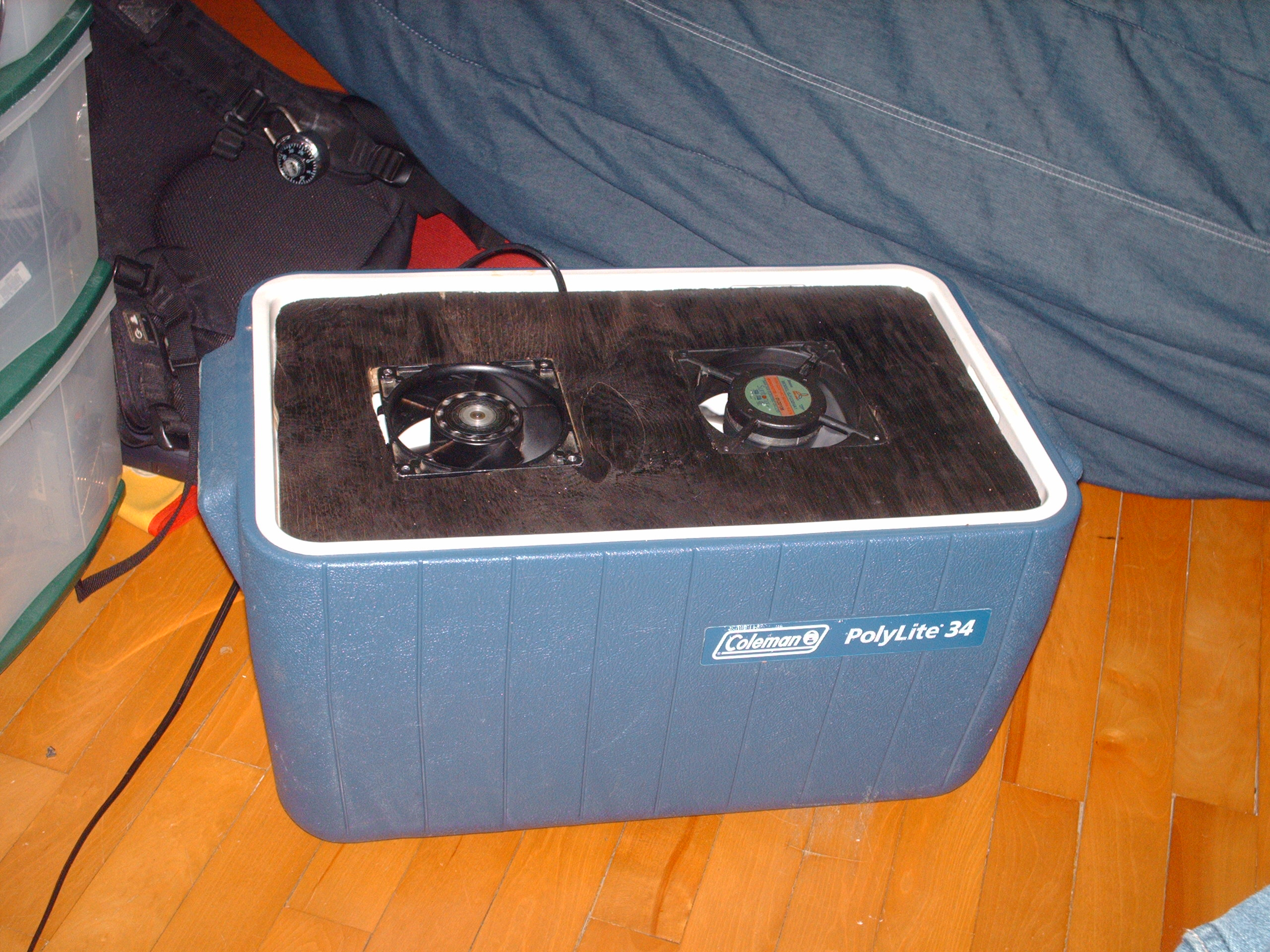 Picture of DIY Cheap & Small Air Conditioner