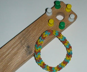 Easy to Make Rubber Band Loom and Bracelet