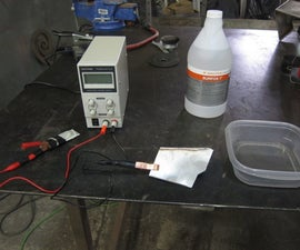 DIY Stainless Steel Weld Cleaning / Electropolishing