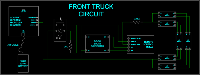 Circuits.io Simulation & Schematic; Wiring It Up