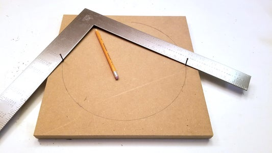 Scribe a Circle With a Square