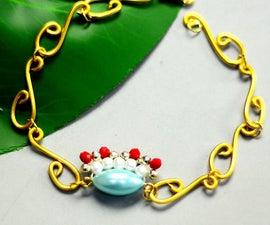 Beebeecraft Tutorials on Making Traditional Opera Style Bracelet