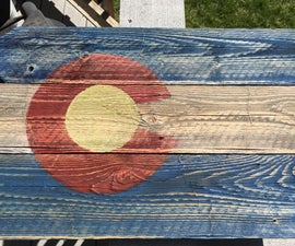 Reclaimed Wood Sign