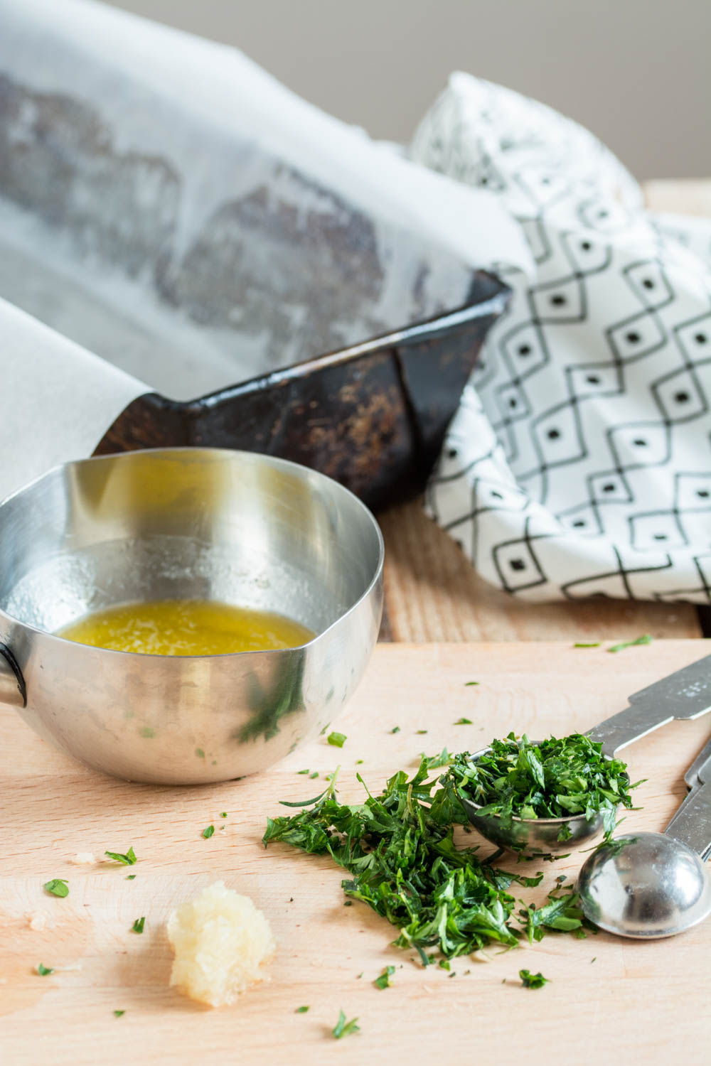 Picture of Preheat the Oven and Prepare the Herb Melted Butter