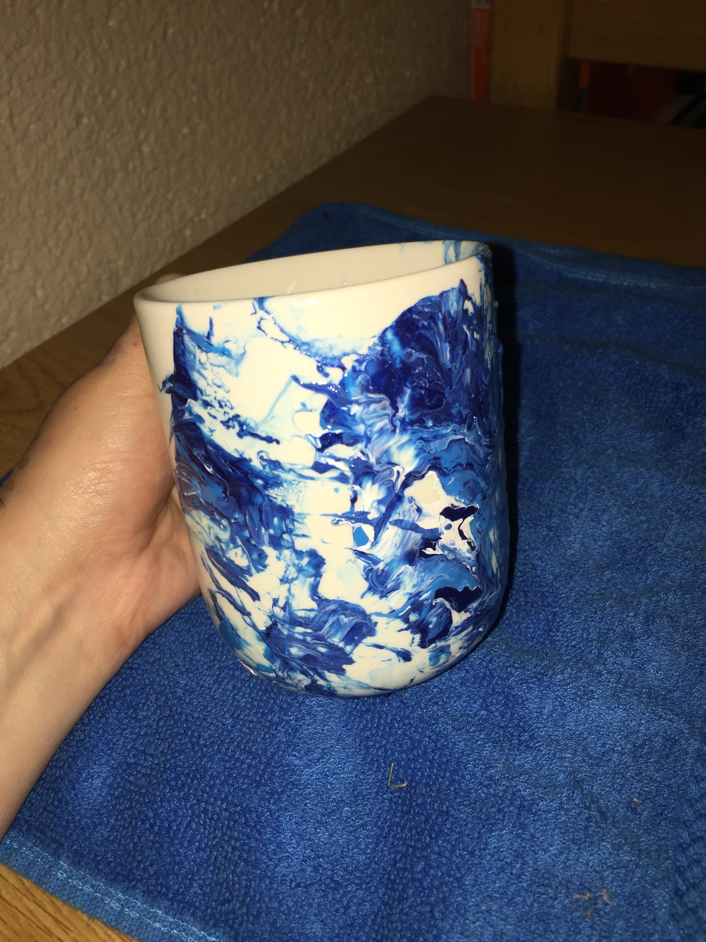 Picture of How to Create Marble Looking Coffee Mugs
