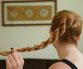 Rope Twist Hairstyle