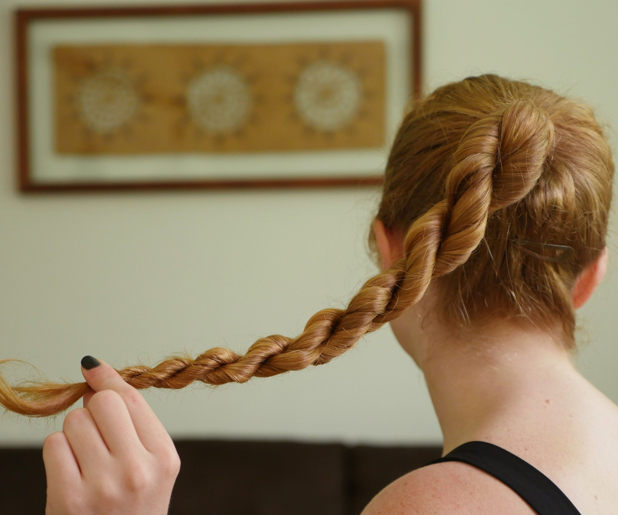 Rope Twist Hairstyle 4 Steps With Pictures