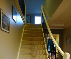 How to 'bling' up a boring staircase