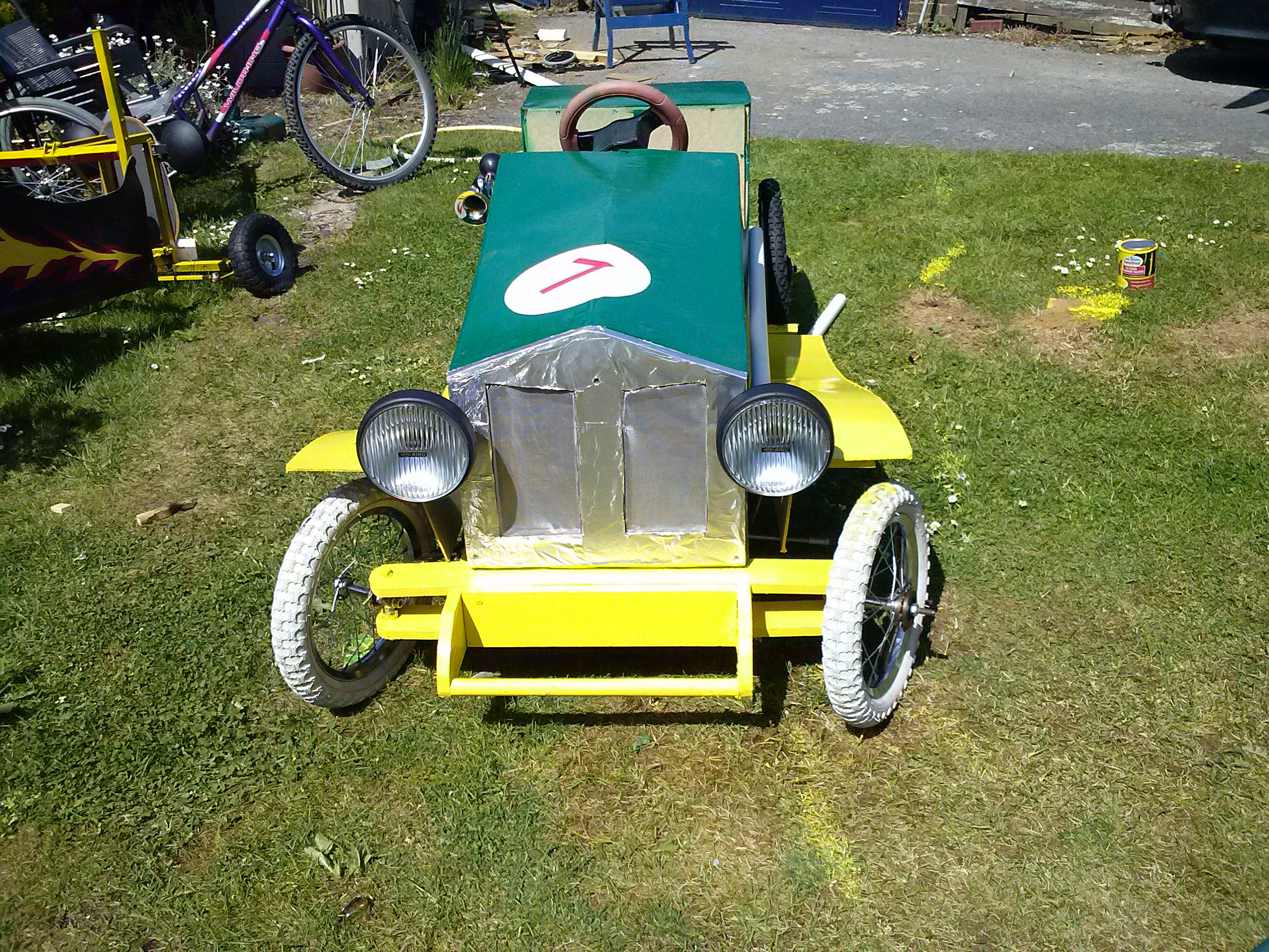 Picture of The Mollymobile Soap Box Transformation Into Chitty Chitty Bang Bang