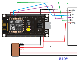 NODEMCU 1.0 (ESP8266)  CONTROLLED RELAY USING BLYNK (OVER THE WEB)