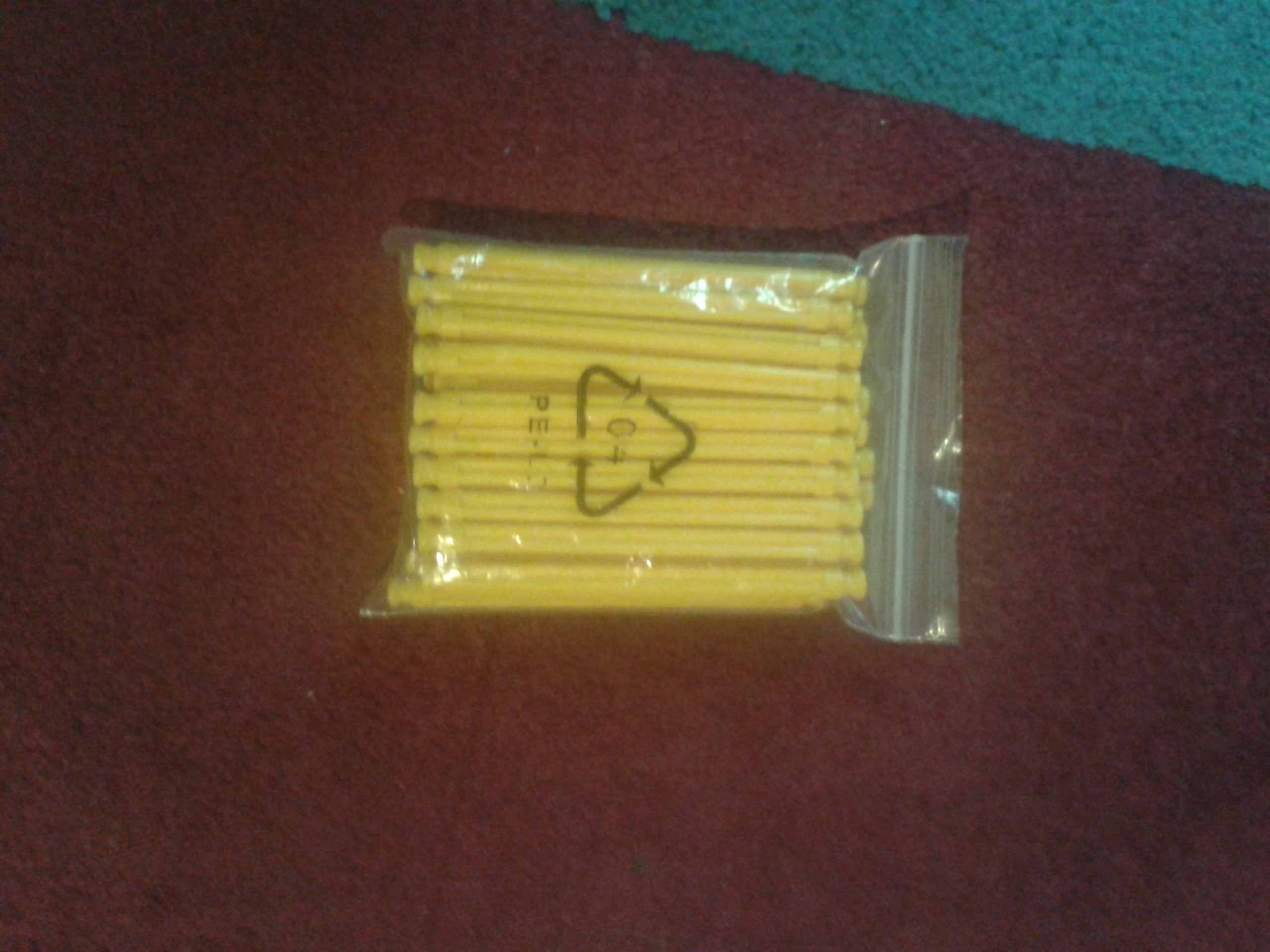 Picture of KNEX HVSR 35-1 Yellow Rod Ammo