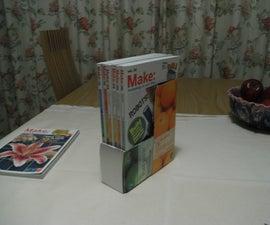 Juice box magazine holder