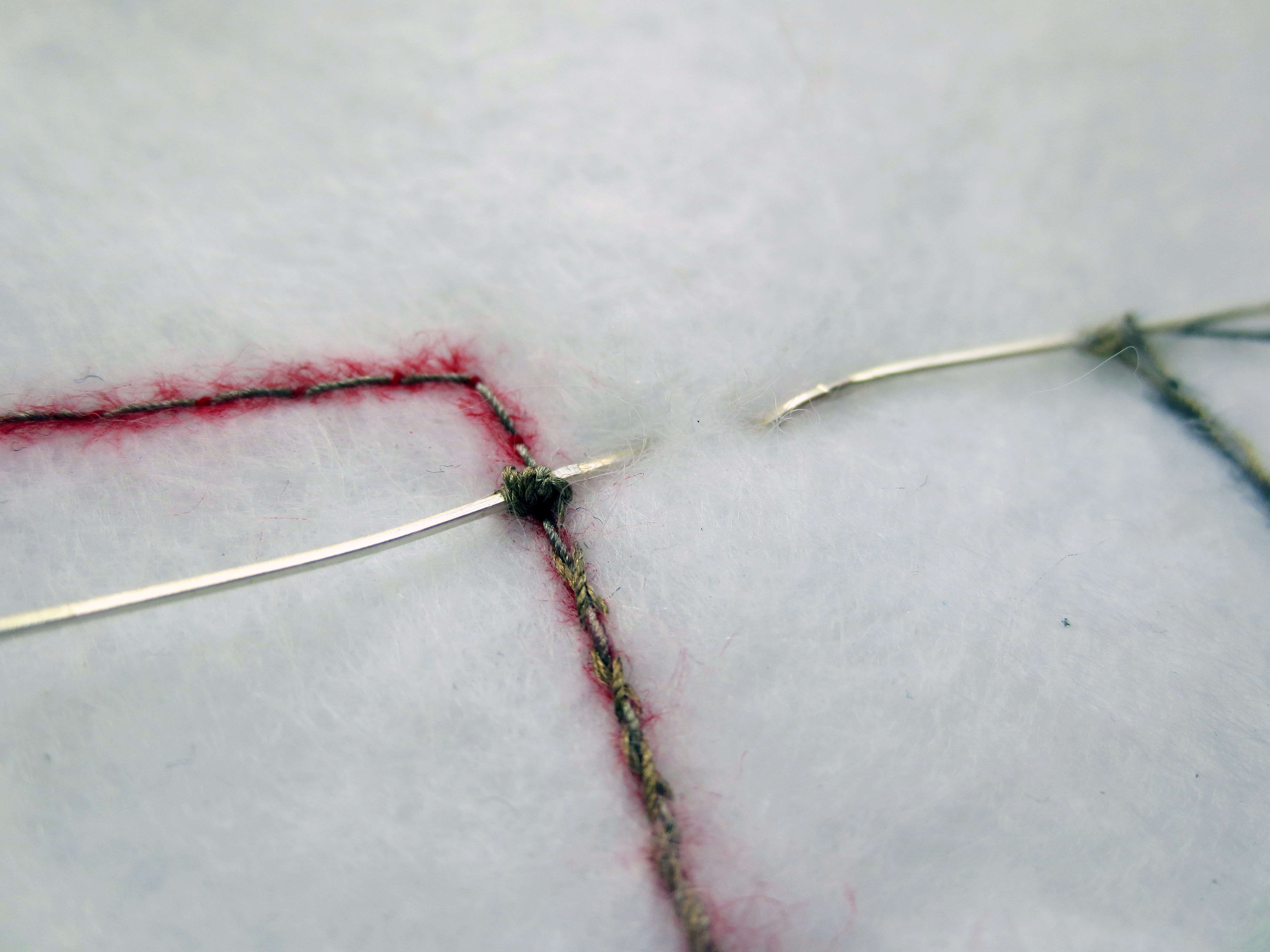 Picture of Attach the LEDs to the Electrical Traces