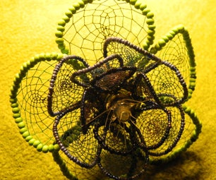Crafty Dreamcatcher Fern Flower
