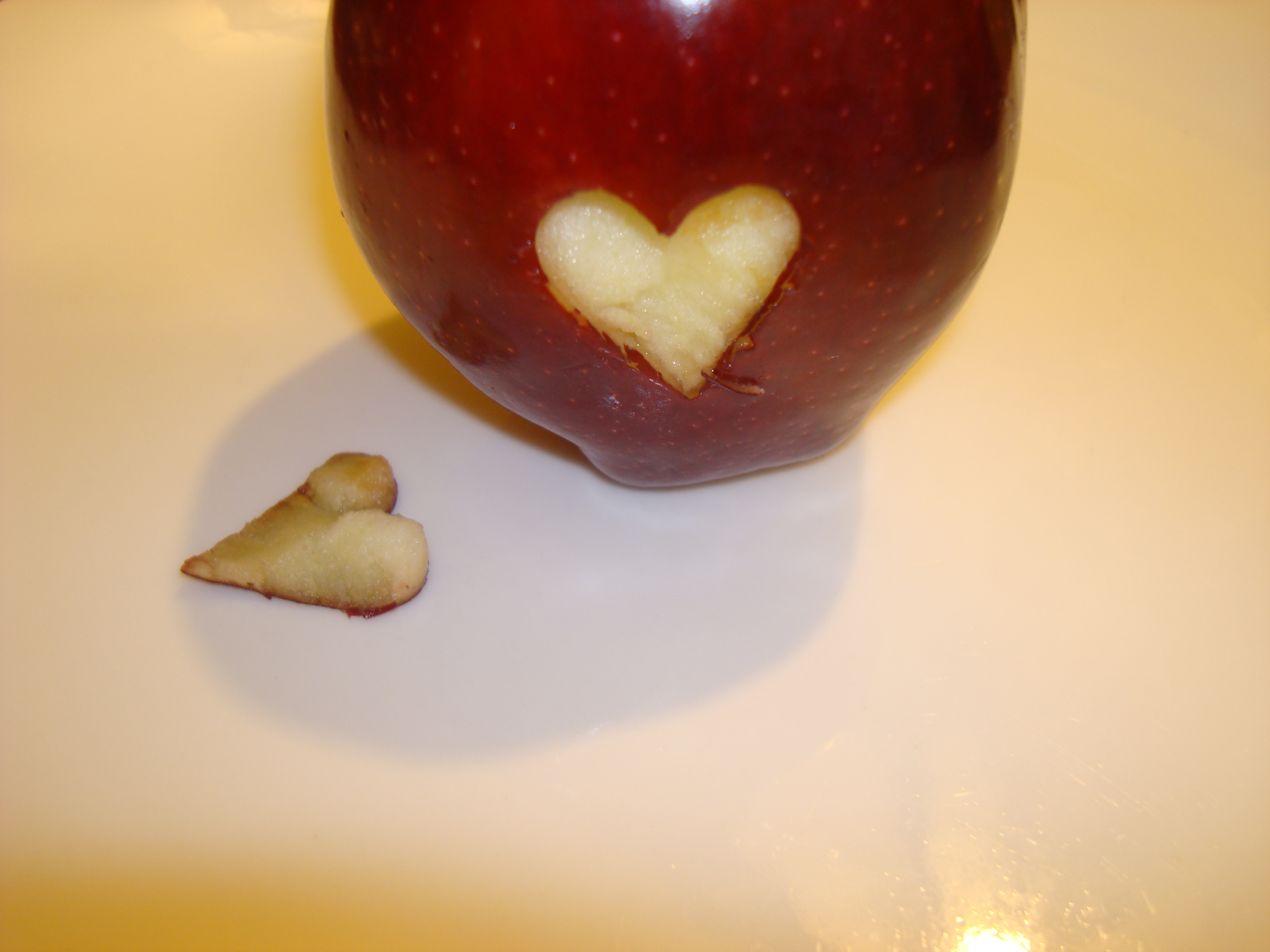 Picture of Carving the Apple Heart