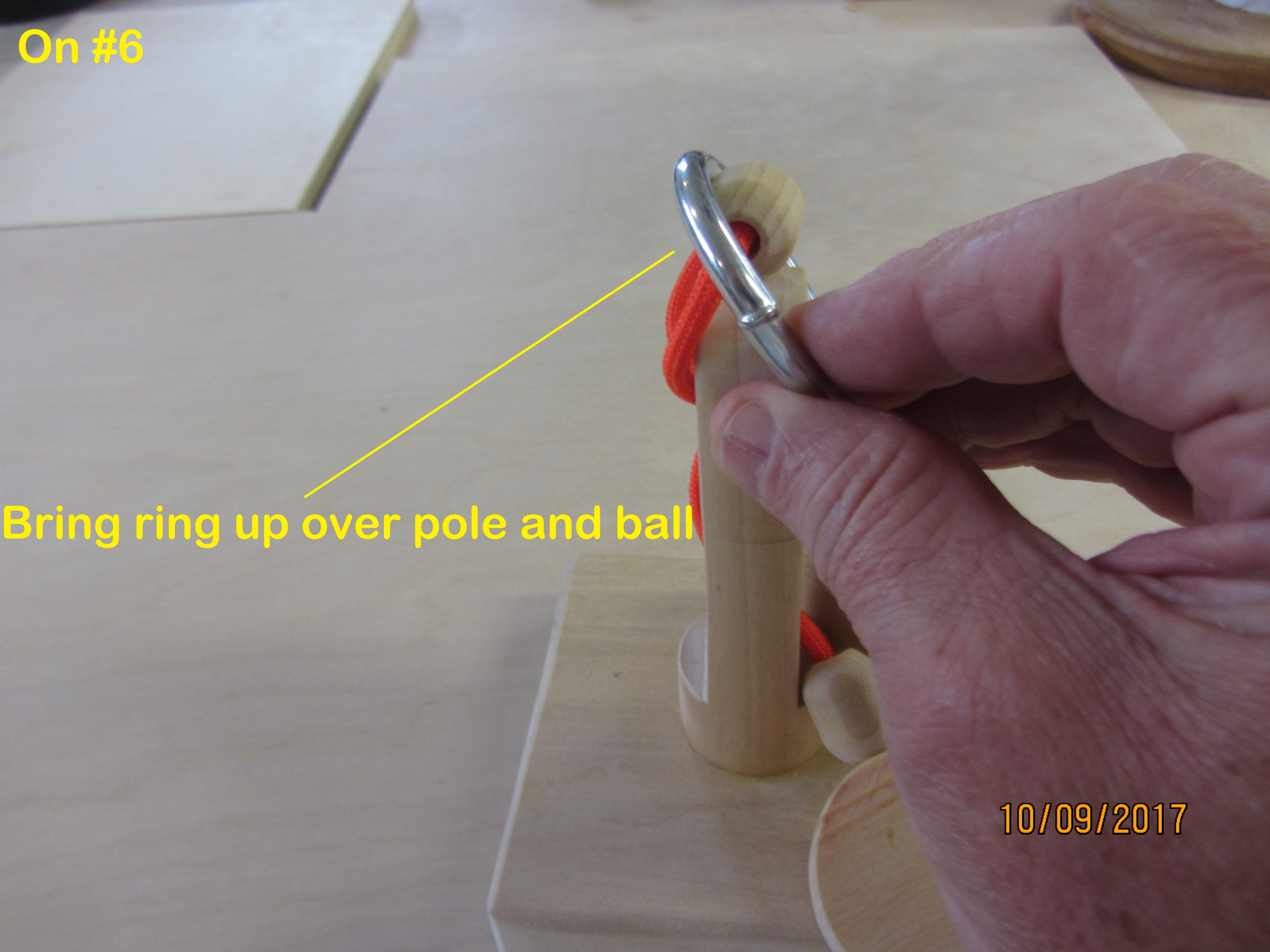 Picture of Solution - Install the Ring - Step by Step