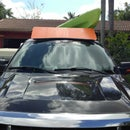 Truck Rack Roof Spoiler Air Dam Diffuser.