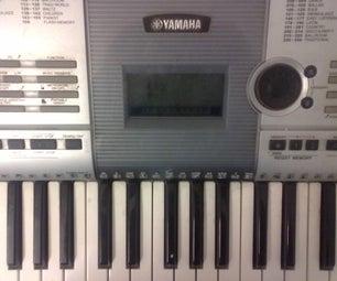 Synthesizer Key Repair