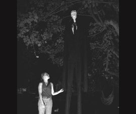Low-cost / High-scare Slender Man