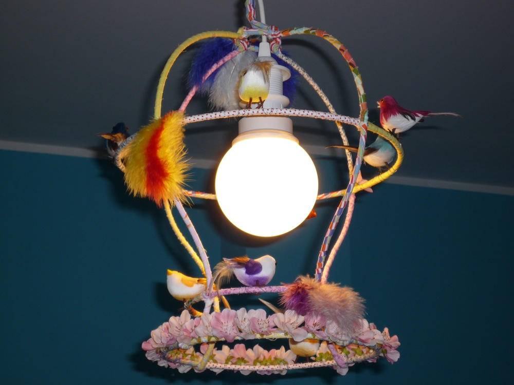Picture of Birdcage Lamp