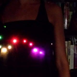 Wearable Sound Reactive Equalizer Skirt