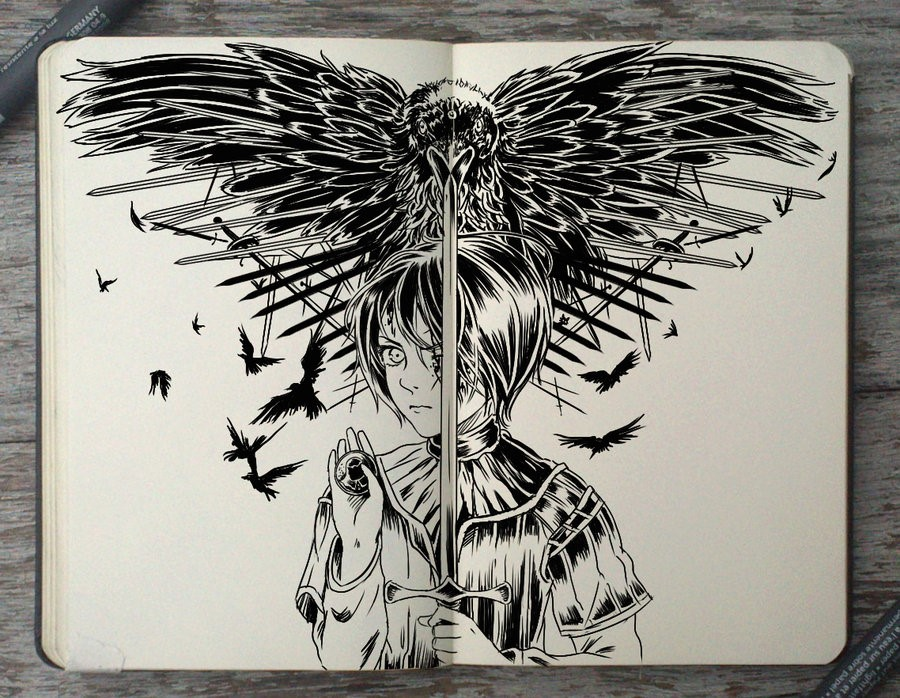 Picture of Game of Thrones, Sketch on Glass