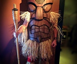 Tiki God - Eva Foam Costume